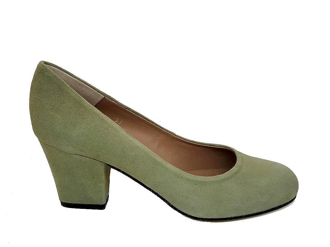 c4c002c9dcac5 Gennia XERRIE - Zapatos de Tacon Ancho 6 cm con Punta Cerrada ...