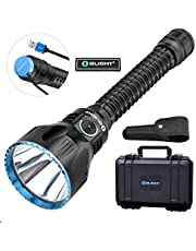 Olight Javelot PRO Ultimate Rechargeable Flashlight 2100 Lumens Cree XHP35 HI NW LED, 3500mAh Battery Pack with MCC Charger, LED Indicator Side Switch with 1080 Meters Beam Distance Riflelight for Hunting Rescue