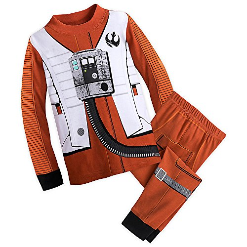 Star Wars Poe Dameron Costume PJ Set for Kids The Last Jedi Size -