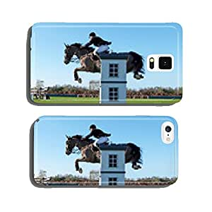 horse jumping cell phone cover case Samsung S6