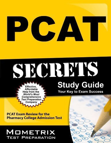 PCAT Secrets Study Guide: PCAT Exam Review for the Pharmacy College Admission Test Pap/Psc St edition by PCAT Exam Secrets Test Prep Team (2013) Paperback