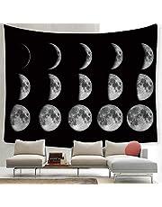 ZYBC Moon Lunar Eclipse Tapestry Universo Galaxy Night Sky Tapestry Planet Tapestry per Soggiorno Camera da Letto
