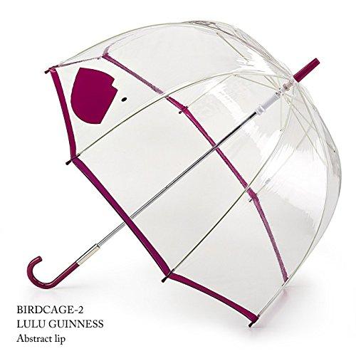 フルトン x ルルギネス 傘 Lulu Guinness x FULTON コラボ アブストラクトリップ レディース 長傘 かさ B00D9Q9AJO