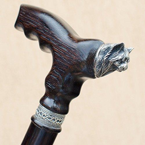 Oak Oil Danish (Unique Designer Walking Cane for Women 32