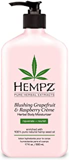 product image for Hempz Body Moisturizer Grape Fruit and Raspberry 17 Ounce Pump (500ml) (Pack of 2)