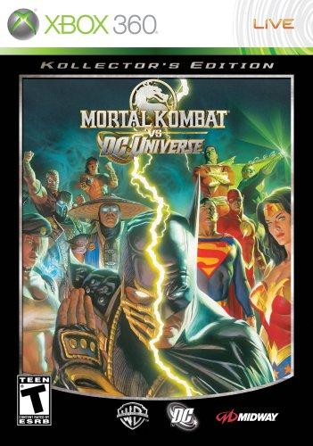 - Mortal Kombat VS DC Universe Collector's Edition -Xbox 360