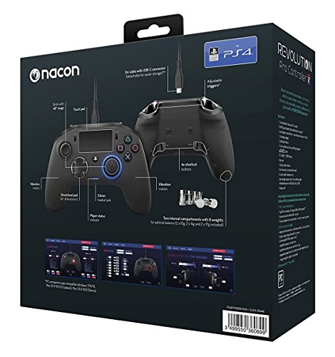 Nacon Revolution Pro Controller - Version 2 PlayStation official Licensed Product