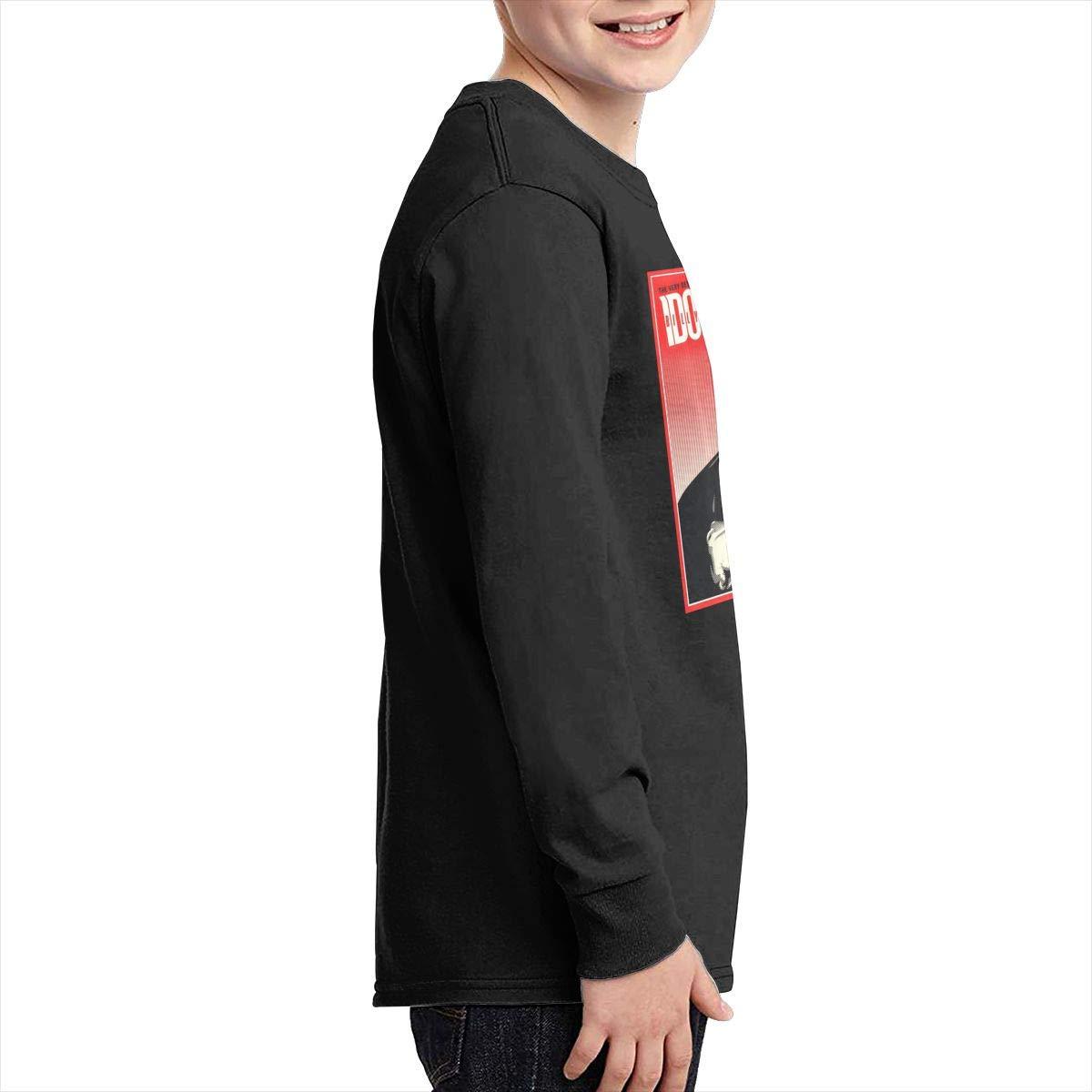 TWOSKILL Youth Billy Rebell Yell Idol Long Sleeves Shirt Boys Girls
