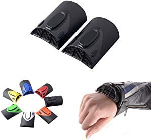 Goldfire 1 Pair Universal Cooling Arm Sleeves Accessories Motorcycle Cooling System Jacket Sleeve Vent for Summer Warm Weather (Balck)