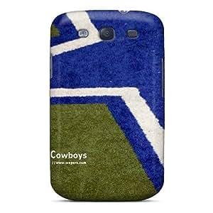 High Grade Blowey Flexible Tpu Case For Galaxy S3 - Dallas Cowboys by kobestar