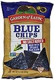 Garden of Eatin' Tortilla Chips, Blue, No Salt Added, 8.1 oz Bags