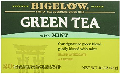 Bigelow Green Tea w/ Mint Tea Bags - 20 ct