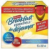 CARNATION BREAKFAST ESSENTIALS Vanilla Nutritional Drink 6 x 237 ml - Packaging May Vary