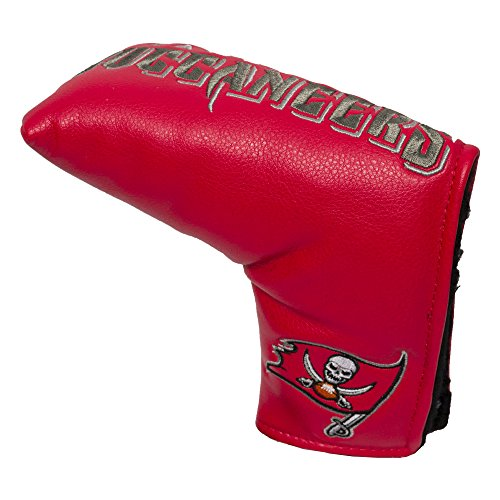 - Team Golf NFL Tampa Bay Buccaneers Golf Club Vintage Blade Putter Headcover, Form Fitting Design, Fits Scotty Cameron, Taylormade, Odyssey, Titleist, Ping, Callaway