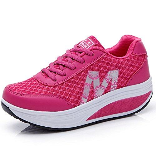 CN-Porter Women's Shape Ups Shoes Strength Fitness Comfort Walking Wedges Sneaker Platform Shoes For Women