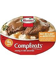 Hormel, ComplEats, Microwave Dinner, 10oz Tray (Pack of 8) (Choose Varieties Below)