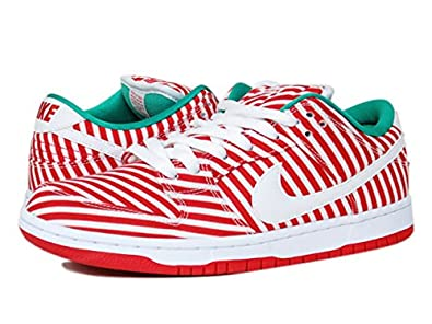 more photos 518fc a89a2 Amazon | (ナイキ) NIKE DUNK LOW PREMIUM SB CANDY CANE ダンク ...