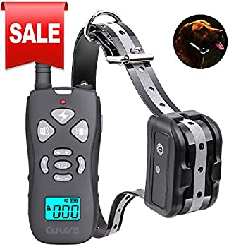 CANAVIS Dog Shock Collar with 1800Ft Remote