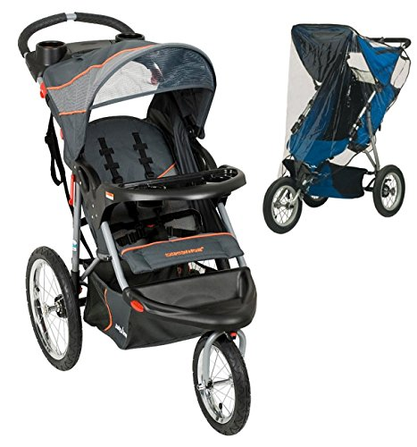 Baby Trend Expedition Jogging Stroller with Weather Shield, Vanguard