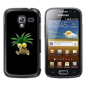 Caucho caso de Shell duro de la cubierta de accesorios de protección BY RAYDREAMMM - Samsung Galaxy Ace 2 - P0kemon Sprout
