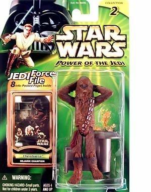 Star Wars Power of the Jedi Action Figure - Chewbacca (Dejarik Champion)