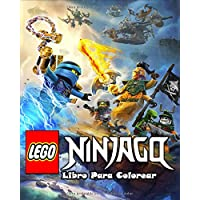 Lego Ninjago Libro Para Colorear: Con 50 diseños