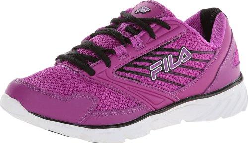 White Fila Simitar Flower Cactus Shoe Black Purple Women's Running v87rqnva