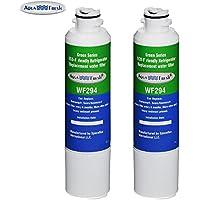 Aqua Fresh Replacement Water Filter for Samsung RF28HMEDBSR/AA Refrigerators ( 2 Pack )