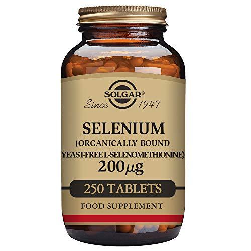 Solgar  Yeast-Free Selenium 200 mcg, 250 Tablets