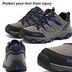 Lvptsh Chaussures de Randonnée pour Hommes Bottes de Randonnée Bottes de Trekking Antidérapantes Bottes d'escalade… 9