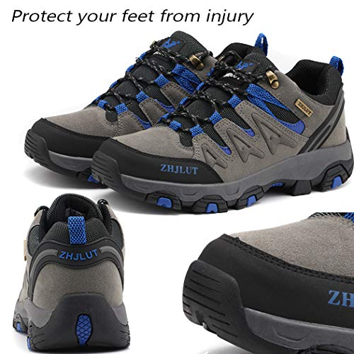 Lvptsh Chaussures de Randonnée pour Hommes Bottes de Randonnée Bottes de Trekking Antidérapantes Bottes d'escalade… 4