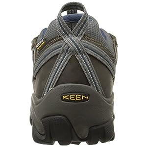 KEEN Men's Targhee II Hiking Shoe, Gargoyle/Midnight Navy - 12 D(M) US