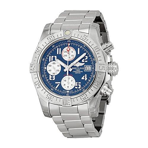 Breitling Men's BTA1338111-C870SS Avenger II Analog Display Swiss Automatic Silver Watch