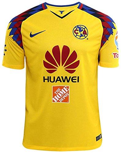 NIKE Youth Club America 2018 Stadium Third Jersey- Yellow YM