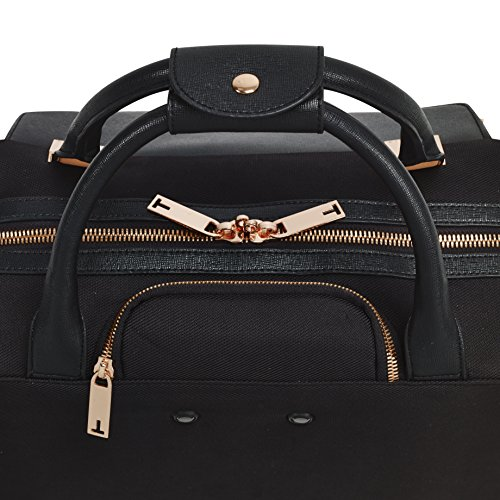Ted Baker Womens Albany Softside Wheeled Business Case (One Size, Black) by Ted Baker (Image #6)