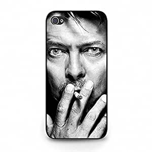 Iphone 5c Phone Cover Shell, Stylish Personality Smoking GlamRock Music Singer David Bowie Phone Case Cover for Iphone 5c