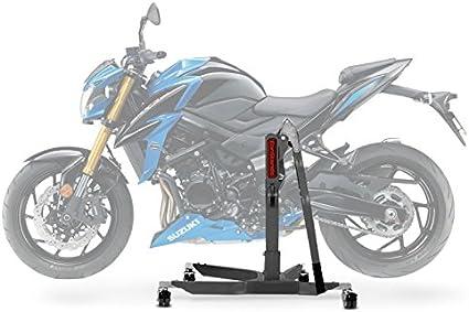 Constands Power Classic Zentralständer Suzuki Gsx S 750 17 21 Grau Motorrad Aufbockständer Heber Montageständer Auto