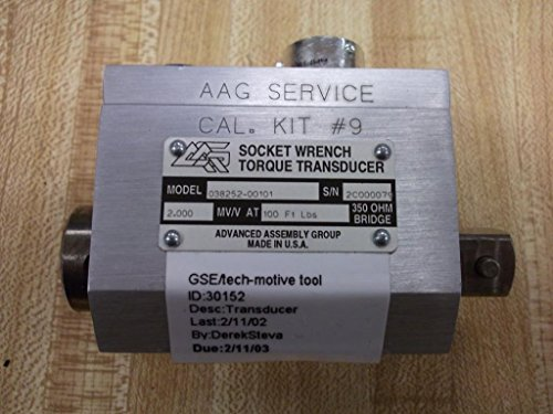 Torque Socket Transducer - GSE 038252-00101 Socket Wrench Transducer 100