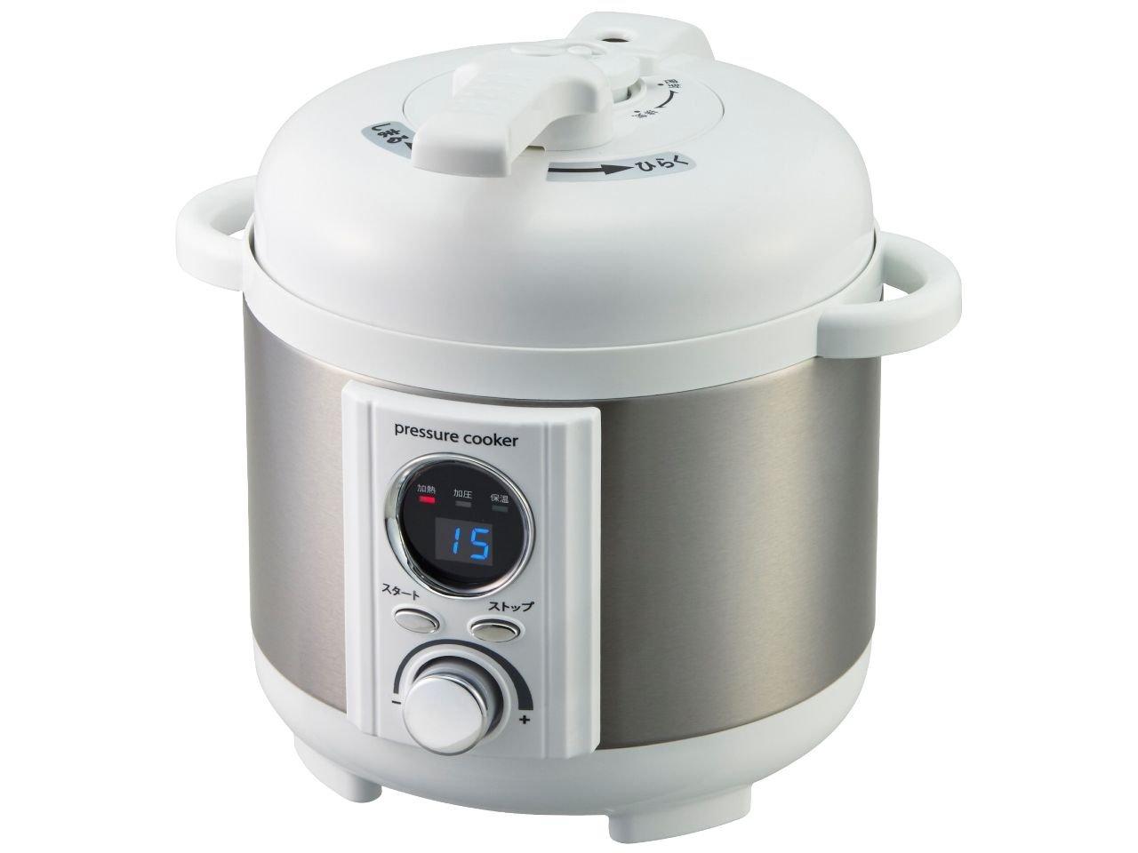 Mini electric pressure cooker「AL COLLE」LPC-T12/W (white)
