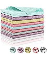 Nanoscale Cleaning Cloth, NanoScale -Streak-Free Miracle Cleaning Cloths Reusable, Easy Clean Cloths nanoscale Microfiber Cleaning Cloth