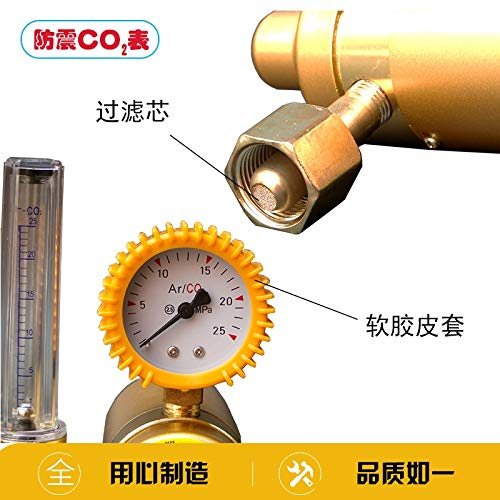 Co2 Pressure Reducing Meter Mixed Gas Heater 36C//220V Reducer Control Valve