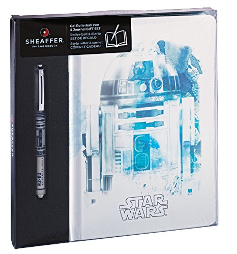 Sheaffer Star Wars R2-D2 Gift Set, Pop Rollerball Pen and Journal (E1920951/7M)]()