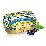 GRETHER'S PASTILLES Black Currant Regular 110G/3.75 OZ