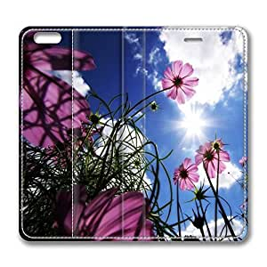 iPhone 6 Plus Case, Fashion Protective PU Leather Flip Case [Stand Feature] Cover Beautiful Day for New Apple iPhone 6(5.5 inch) Plus