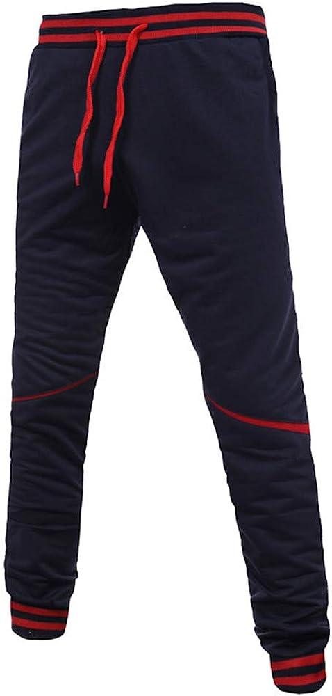 Bestow-pantalones de chándal para Hombres Pantalones Deportivos ...