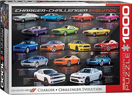 (EuroGraphics Dodge Charger Challenger Evolution 1000-Piece Puzzle)