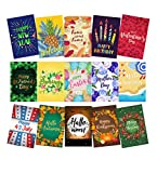 Cheap Mogarden Seasonal Garden Flags Set – 15 Pack, Free 2 Stopper & 2 Wind Clip & USA Flag Car Sticker, Artistically Designed Yard Flags, Double Sided, 12″ x 18″ Size, Thick Weatherproof Polyester Fabric
