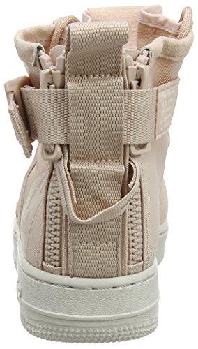 Nike particle Mid W De Af1 201 Femme Beige particle Beige Chaussures Gymnastique Sf 41frqxwP4