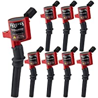 BIG AUTOPARTS Pack of 8 Ignition Coil Replacement High...