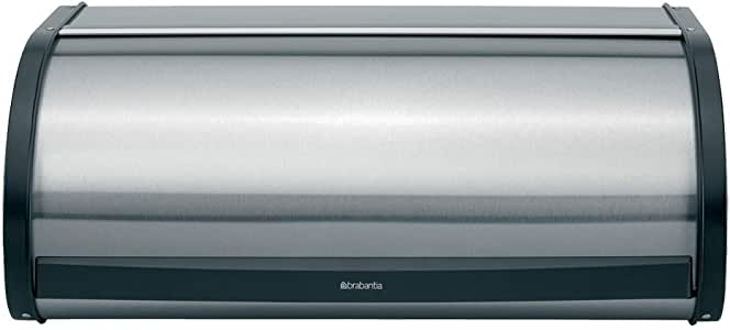 Brabantia 299445 Roll Top Bread Bin FPP Matt Steel